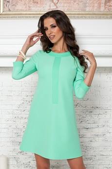 ХИТ продаж: платье ментолового цвета Angela Ricci